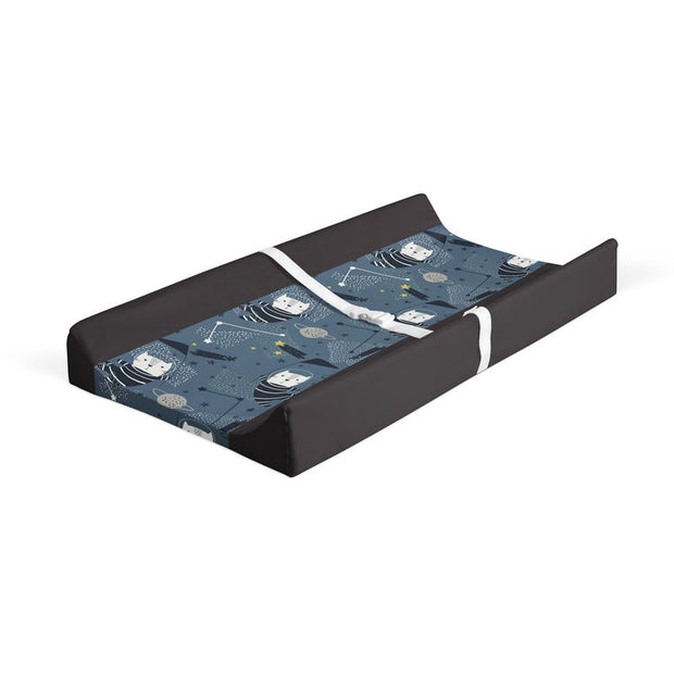 Space race - minky changing pad cover