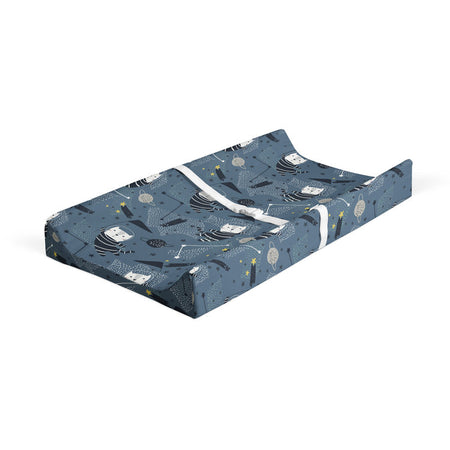 Space race - bamboo muslin changing pad cover
