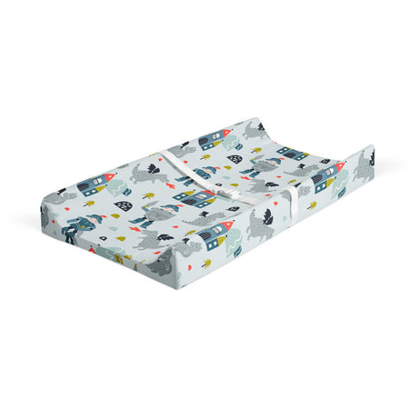 Knight in shining armour - bamboo muslin changing pad cover