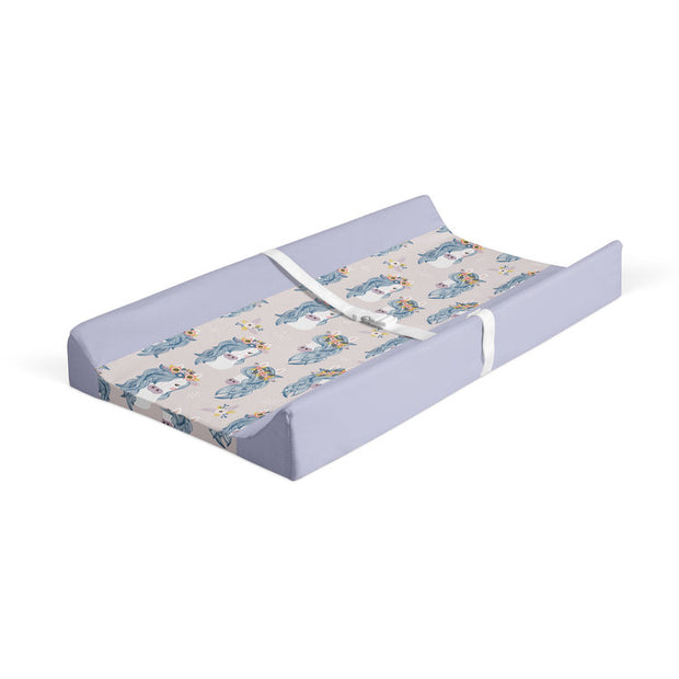 Boho babes - minky changing pad cover