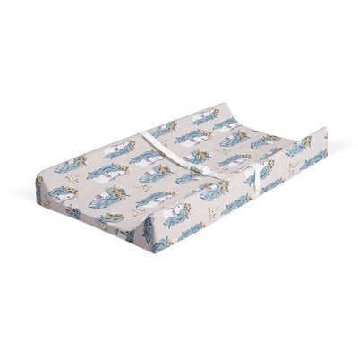 Boho babes - bamboo muslin changing pad cover