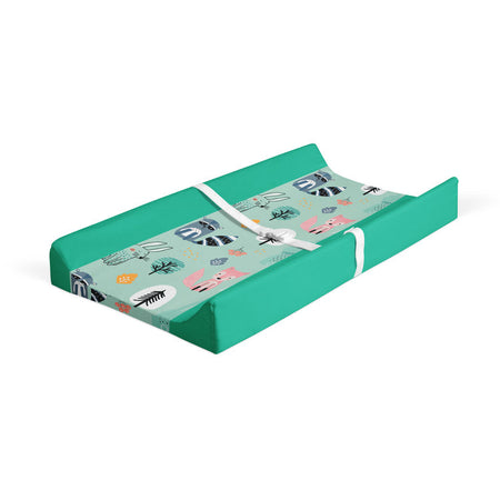 Wintry explorers - minky changing pad cover