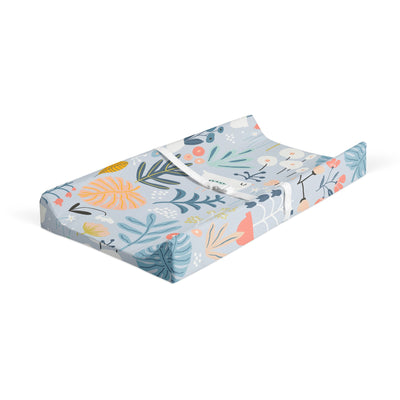 Dreaming in flowers - bamboo muslin changing pad cover