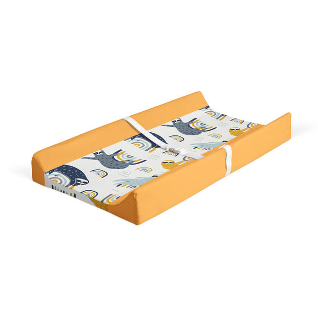 Sluggin' along - minky changing pad cover