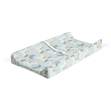 Honeymooners - bamboo muslin changing pad cover