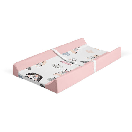 Rosy night - minky changing pad cover
