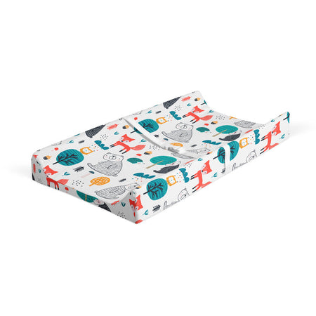 Plush world - bamboo muslin changing pad cover