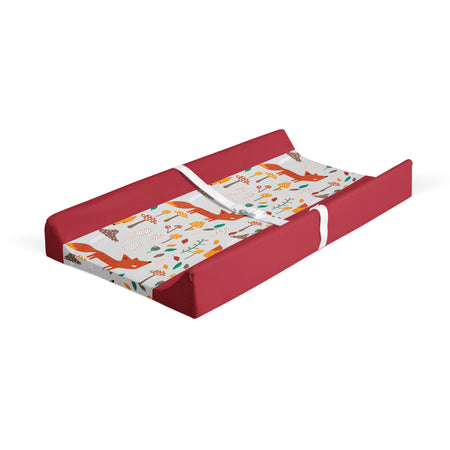 Little red - minky changing pad cover
