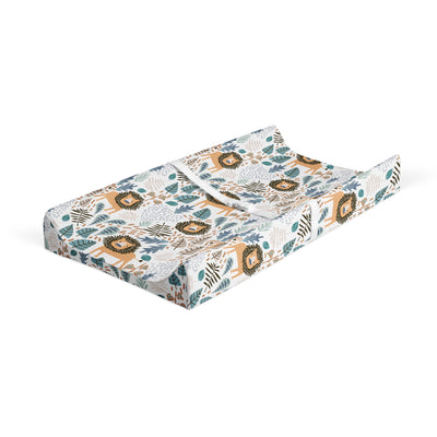 King of the Savanna - bamboo muslin changing pad cover