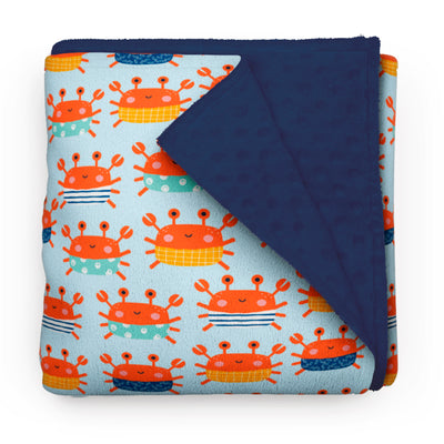 King crabs - minky comforters