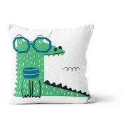 Cajun crocs - cushion cover