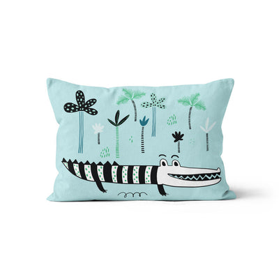Cajun crocs - minky pillowcase
