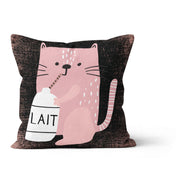 Sleepy kittens - cushion cover