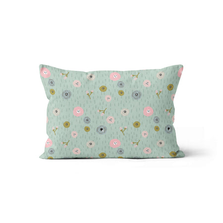 Flower field - bamboo muslin pillowcase