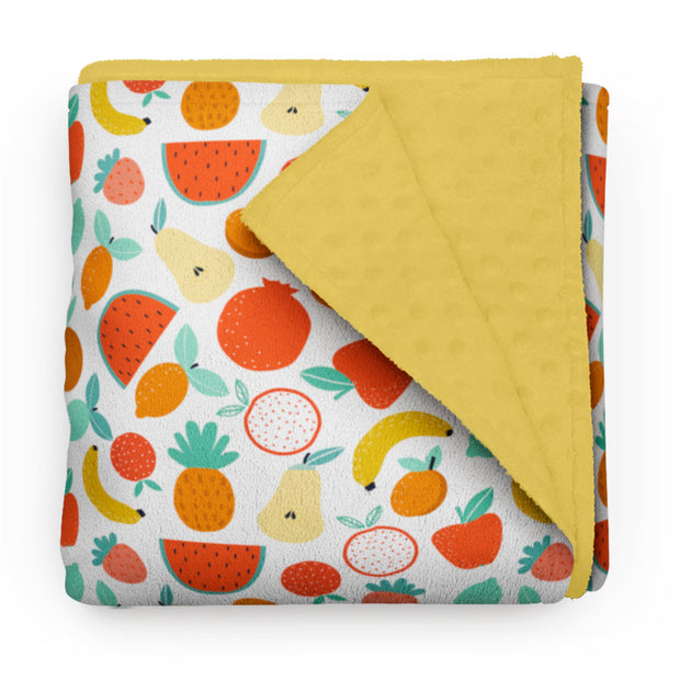 Fruit punch - minky comforters