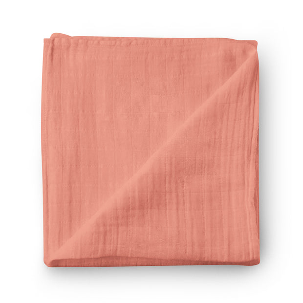 Grapefruit - bamboo muslin swaddle