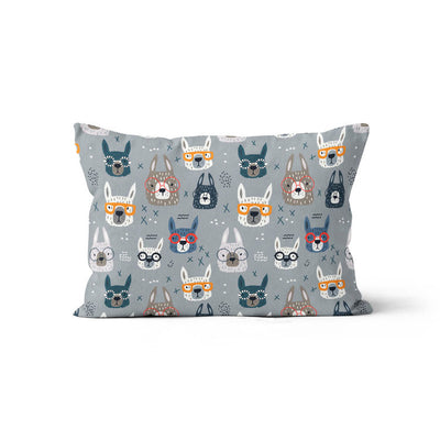 Lama'ttitude - minky pillowcase