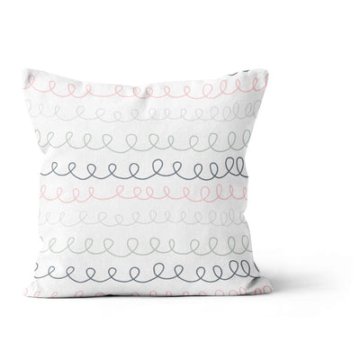 Sea unicorns - cushion cover