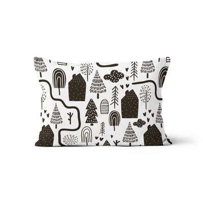 City slickers - minky pillowcase
