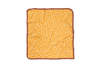 olé hop security blanket - doudou confort ochre ocre