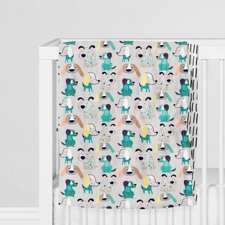 Bougie pooches - bamboo muslin 4 layers