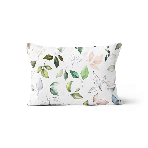 Blooming nature - minky pillowcase