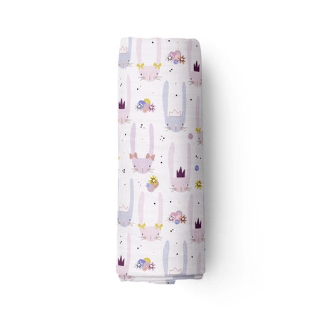 Starry godmothers - bamboo muslin swaddle