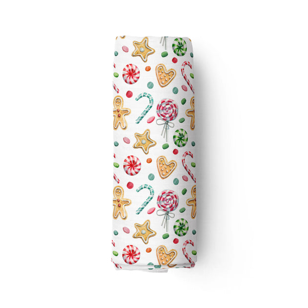 Spicy christmas morning! - bamboo muslin swaddle