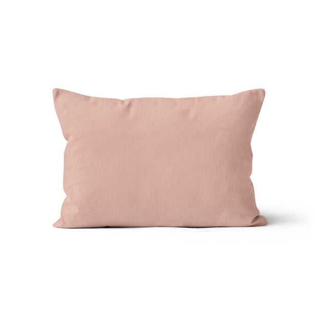 Rosy night - minky pillowcase