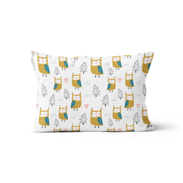 King of the forest - bamboo muslin pillowcase