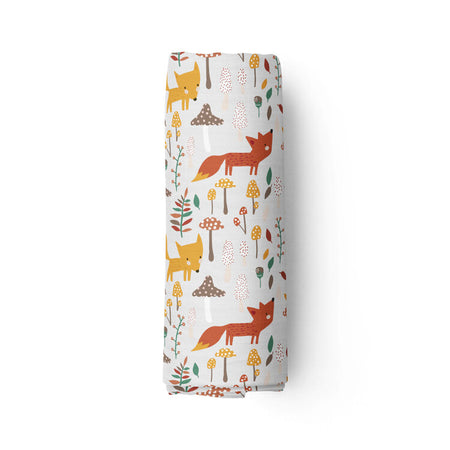 Little red - bamboo muslin swaddle