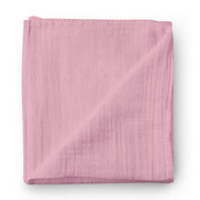 Ruby chocolate - bamboo muslin swaddle