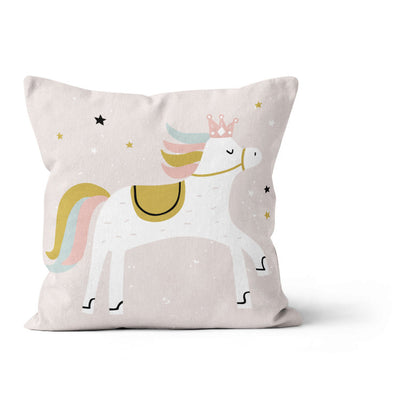 Satin castle - cushion cover