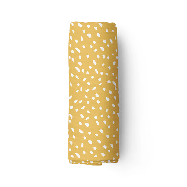 Ray of honey - bamboo muslin swaddle