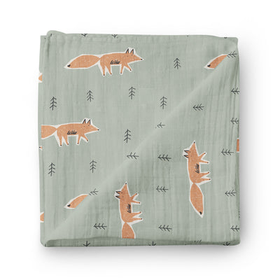 The Taiga Adventure - bamboo muslin swaddle