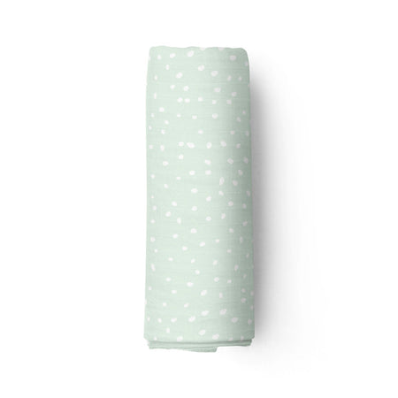 Ice mint - bamboo muslin swaddle