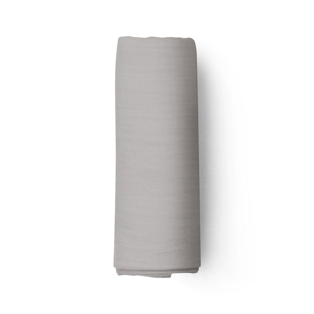 Mouse grey - bamboo muslin swaddle