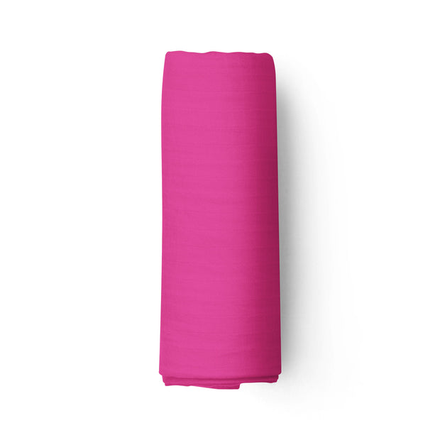 Dragon fruit - bamboo muslin swaddle