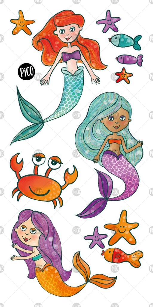 Children tattoos*** -  The mermaids - PICO tattoos