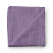 Grape soda - bamboo muslin swaddle