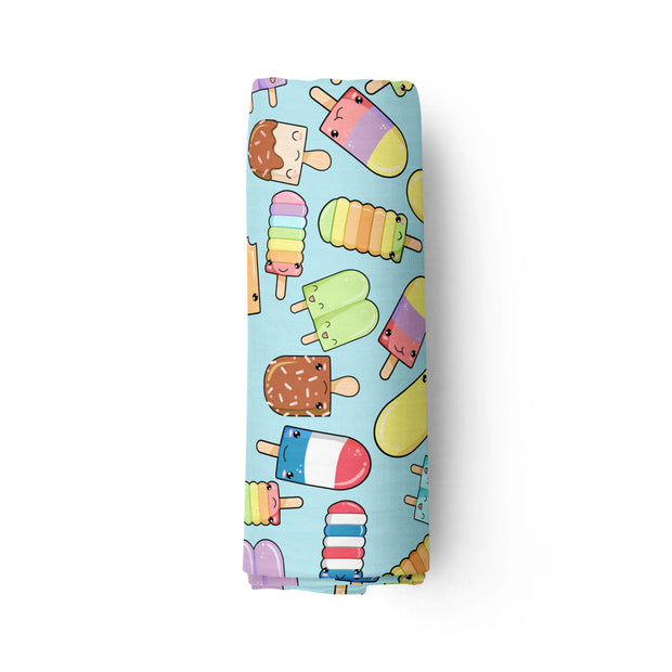DUO - Fruity Pops & Sweet Ice Cream - bamboo muslin swaddle