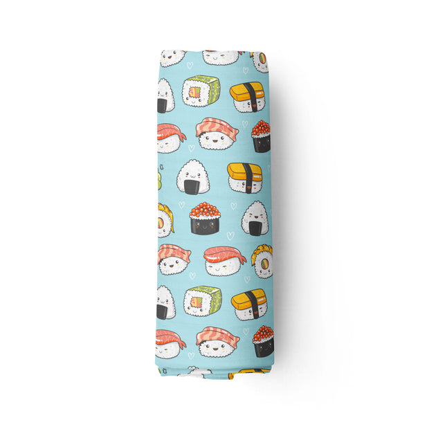 Funky sushis - bamboo muslin swaddle