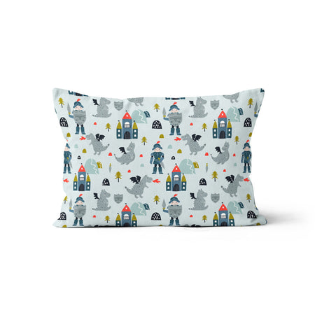Knight in shining armour - bamboo muslin pillowcase
