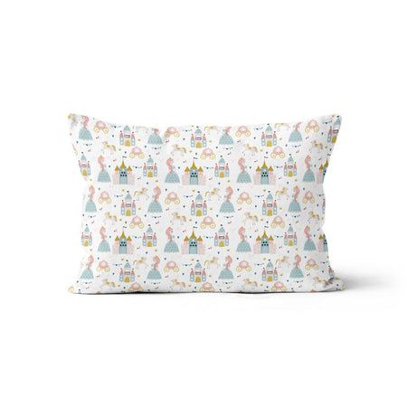 Satin castle - bamboo muslin pillowcase