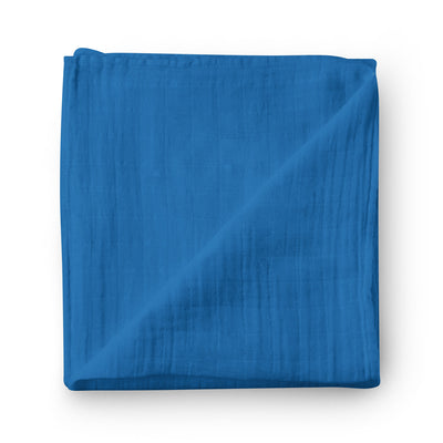 Blueberry pie - bamboo muslin swaddle