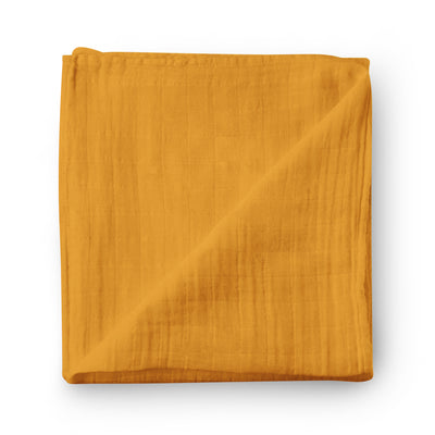 Sunflower - bamboo muslin swaddle
