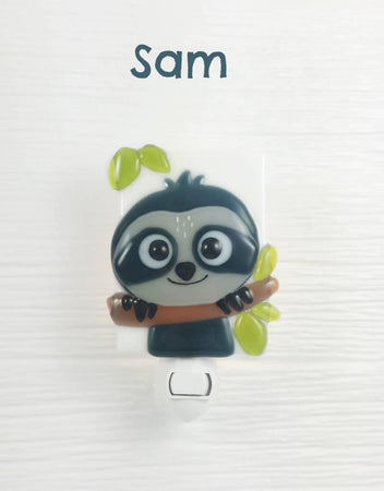 Glass Nightlight - Sam Sloth - Veille sur toi