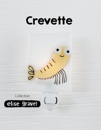 Shrimp - nightlight - Elise Gravel