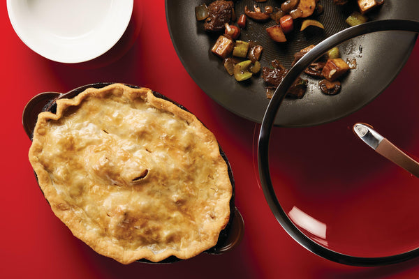 Beef and Mushroom Pot Pie - Circulon