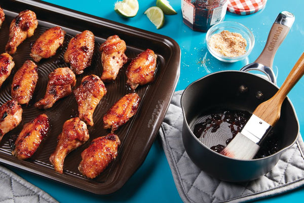 Cherry-Chipotle Wings